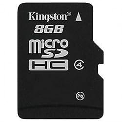 Kingston 8GB Micro SDHC class 4 memory card