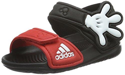 adidas Disney Akwah 9, Scarpe Primi Passi Unisex - Bimbi 0-24, Multicolore (Core Black/Vivid Red/Ftwr White), 23 EU