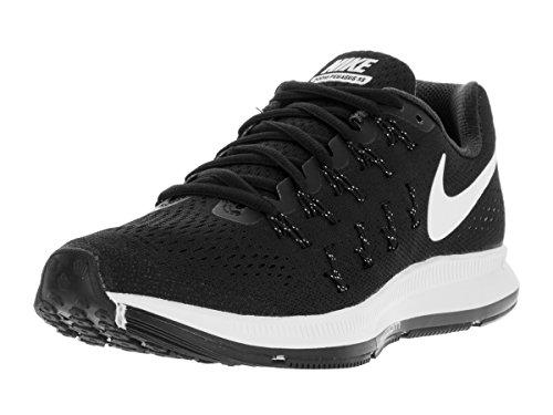 Nike Women's Air Zoom Pegasus 33 Black/White/Anthracite/CL Grey Running Shoe 8 Women US