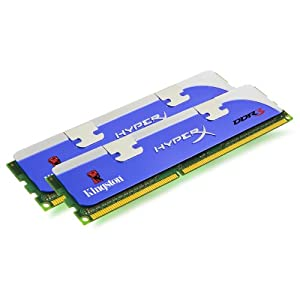 Kingston HyperX 4 GB Kit (2x2GB Modules) 1600MHz DDR3 Desktop Memory (KHX1600C9D3K2/4GETR)