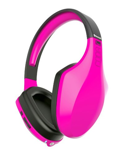 Ifrogz If-Cfb-Pnk Audio Coda Forte Bluetooth Headphones With Mic - Pink