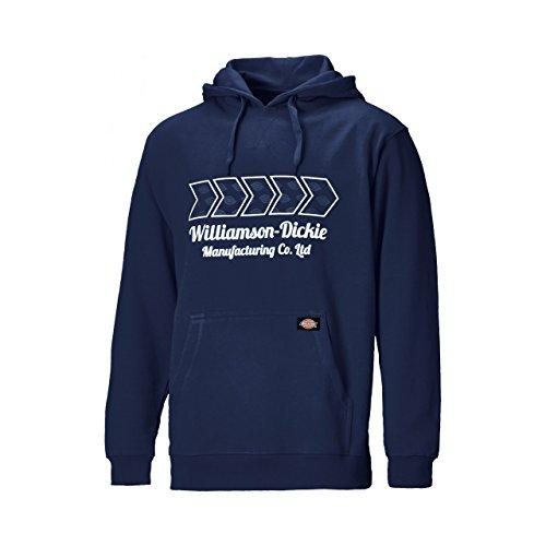 Dickies -  Felpa con cappuccio  - Uomo Blu marino xl