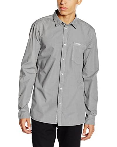 Pepe Jeans London Camisa Hombre New William Gris