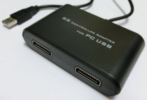 SS-USB コントローラーアダプター (セガサターンパッドを有効活用!)