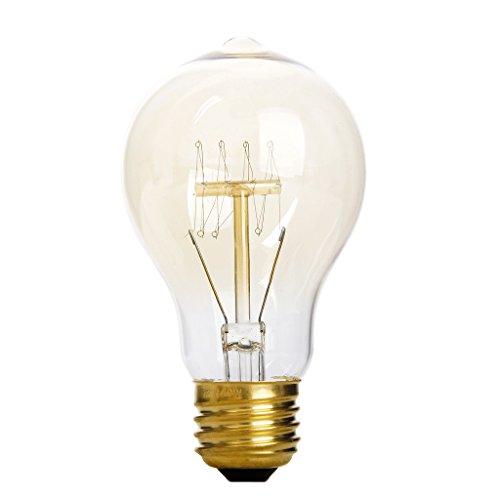 Ac 110-120V Vintage Tungsten Filament Antique Light Bulb E27 A19