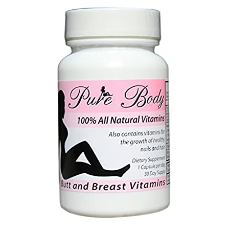 Have you ever wish you had a bigger butt? Or wished you had fuller breasts? Yes, Then Pure Body Vitamins is for you and can help you achieve your goals. PureBody Pills works by increasing your metabolism, stimulating estrogen and targeting muscle tis...