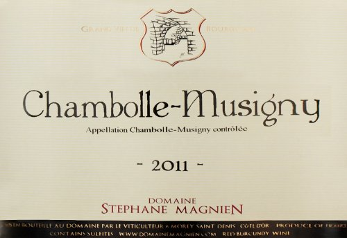2011 Domaine Stephane Magnien Chambolle-Musigny 750 Ml