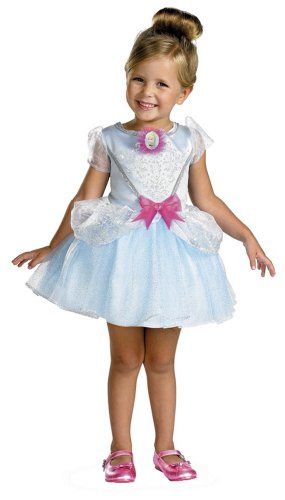 Disguise Kids Disney Cinderella Toddler Ballerina Costume
