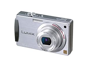Panasonic Lumix DMC-FX500S 10.1MP Digital Camera with 5x Wide Angle MEGA Optical Image Stabilized Zoom (Silver)
