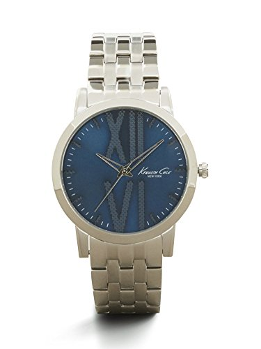 Kenneth Cole New York Men's 10014812 Classic Analog Display Japanese Quartz Silver Watch
