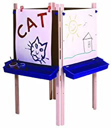 Steffy Wood Products 4-Station Adjustable Easel