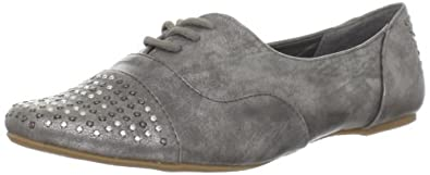 Not Rated Women's Hot Stepper Oxford,Pewter,6.5 M US