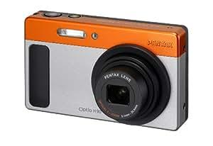 Pentax Optio H90 Appareil photo numérique 12,1 Mpix Gris / Orange