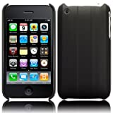 IPhone 3GS / iPhone 3GS Case - 8GB 16GB 32GB Black Ridged Back Cover Polycarbonate Crystal Gel Case for Apple iPhone 3G 3G S - Trade Accessories Accessories