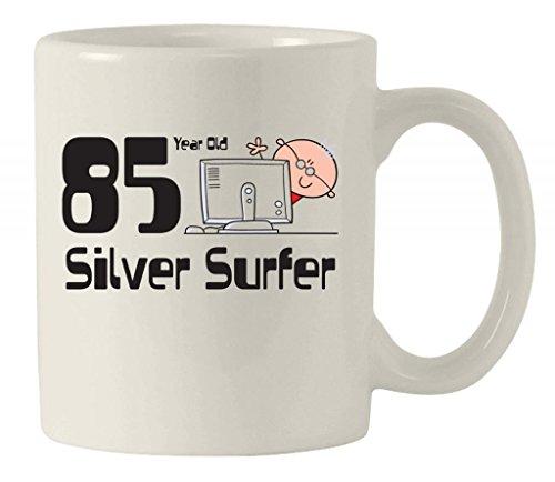 Silver Surfer uomo 85th Compleanno Tazza di ceramica