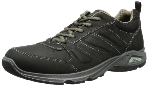 Ecco Mens ECCO LIGHT III High-Top Black Schwarz (BLACK/BLACK) Size: 13 (47 EU)