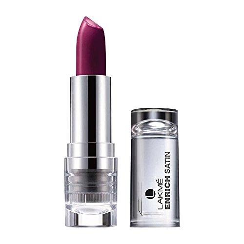 Lakme Enrich Satins Lip Color, Shade W267, 4.3 g