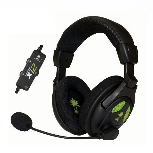 Turtle Beach Ear Force X12 Gaming Headset And Amplified Stereo Sound