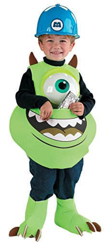 Boys Mike Candy Catcher Kids Child Fancy Dress Party Halloween Costume