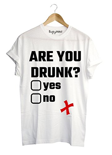 T-shirt uomo Are you drunk?, XL