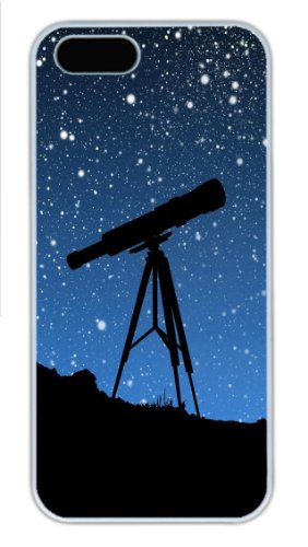 Sky Telescope Custom Iphone 5S/5 Case Cover ¨C Polycarbonate ¨C White