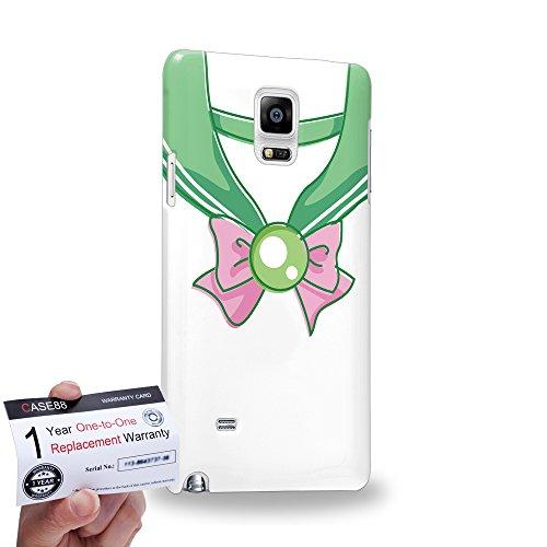Case88 [Samsung Galaxy Note 4] 3D stampato Custodia/Cover Rigide/Prottetiva & Certificato di garanzia - Sailor (Series Moon) Jupiter Vintage