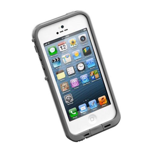 並行輸入品LIFEPROOF Apple au softbank iPhone5用防水防塵耐衝撃ケース LifeProof fre iPhone5 ホワイト 1301-'02