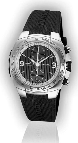 Alpina Al-700lbbs4a6 Avalanche Chronograph Automatic Mens Watch