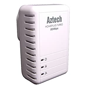 Solwise 85Mbps HomePlug Ethernet Adapter - Single Pack