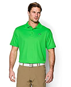 Under Armour Men's UA Performance Polo Large GREEN ENERGY