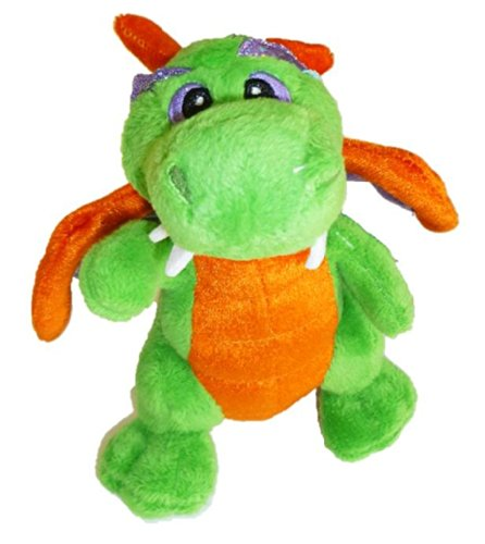 "Aurora ""Legendary Friends"" 7"" Plush Dragon - Green"