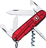 Victorinox Spartan Swiss Army Knife Translucent Red Blister