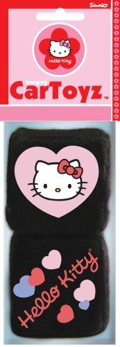 Hello Kitty Fuzzy Dice Car Toys
