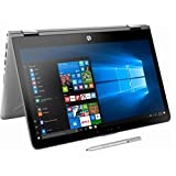 HP Premium 14 inch 2-in-1 Touch Screen Laptop Intel Core i3, 8GB, 500GB, Windows 10 Home/ HP active Pen, Silver