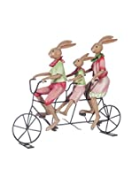 Especial Navidad Luxury Figura Christmas Rabbit Family