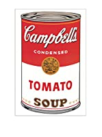 Artopweb Panel Decorativo Warhol Campbell's Soup Can 60x90 cm Multicolor