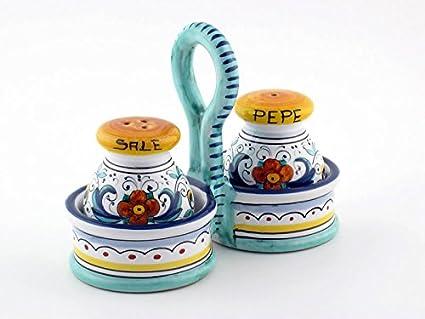 Handmade Ceramic Salt And Pepper Shakers Ceramic Salt Amp Pepper