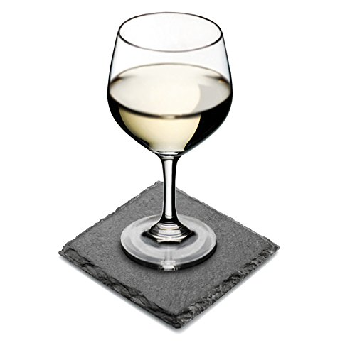 Artaste 28539 Slate Coasters Square, Set of 4