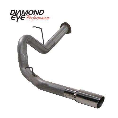 "'07.5-'10 Chevy Silverado, Gmc Sierra Duramax 6.6L Diesel 2500/3500, 4"" Stainless Steel D.P.F. Back Single Exhaust"