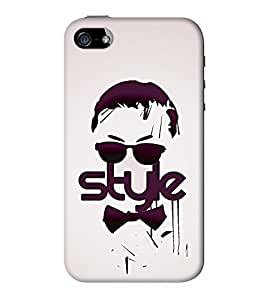 Go Yankee gangnam style back case cover for iphone 5/5s