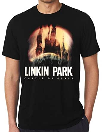 linkin park castle of glass t shirt black. Black Bedroom Furniture Sets. Home Design Ideas