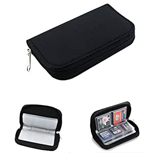 Memory Card Carrying Case - Black (Generic)