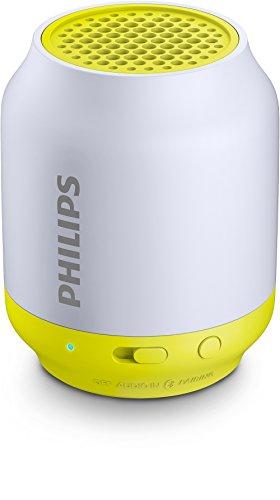 Philips ワイヤレスポータブルスピーカー Bluetooth対応 ライム BT50L