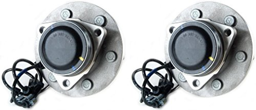 Prime Choice Auto Parts HB615056PR Front Hub Bearing Assembly Pair (2000 Silverado Parts compare prices)