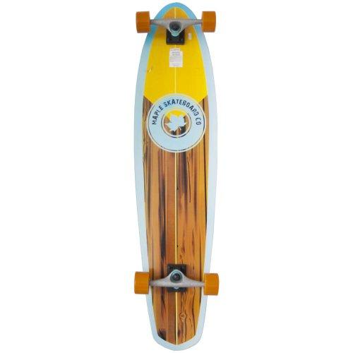 """Maple - Pipeline, skateboard longboard completo, in legno, 107 cm (42"""") x 25 cm (10"""")"""