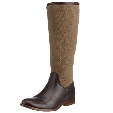 Frye Women's Melissa Tall Boot Dark Brown 77120DBN8 6 UK D