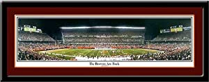 Cleveland Browns Stadium The Browns Are Back Panoramic Print by MyTeamPrints LLC