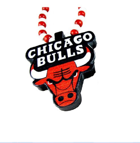 Dream Jewelry 2012 Good Wood Nyc Hip Hop Chicago Bulls Pendant Beaded Chain Necklaces