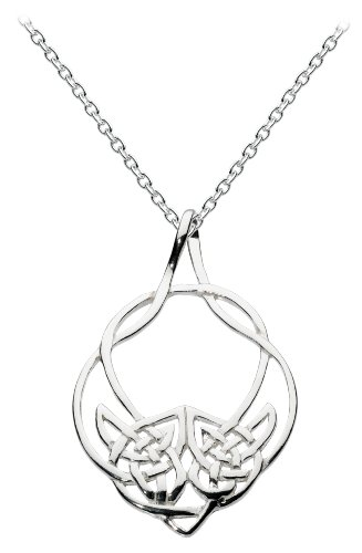 heritage-womens-sterling-silver-celtic-large-open-woven-necklace-of-length-18-inch