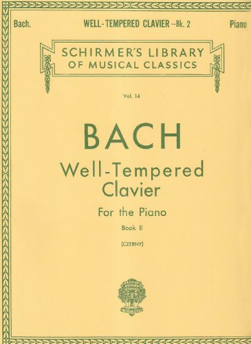 Well Tempered Clavier: 48 Preludes and Fugues for the Piano Book 2 Vol 14 PDF
